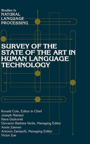 9780521592772: Survey of the State of the Art in Human Language Technology (Studies in Natural Language Processing)