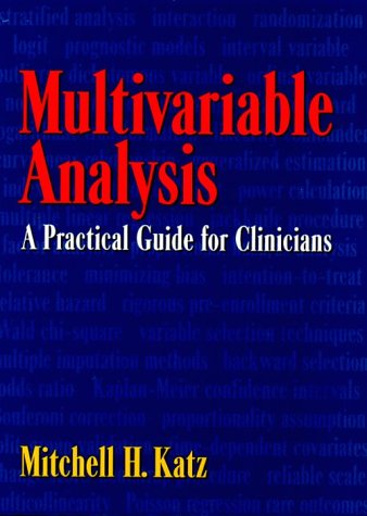 9780521593014: Multivariable Analysis: A Practical Guide for Clinicians
