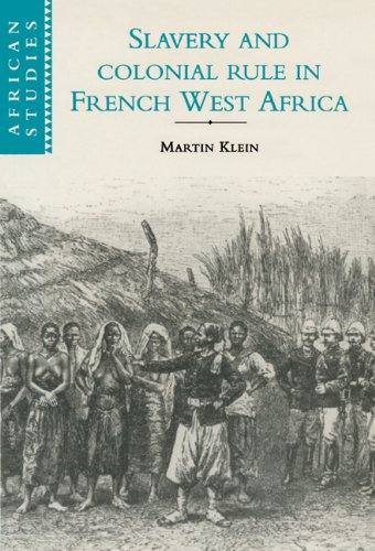 9780521593243: Slavery and Colonial Rule in French West Africa (African Studies)