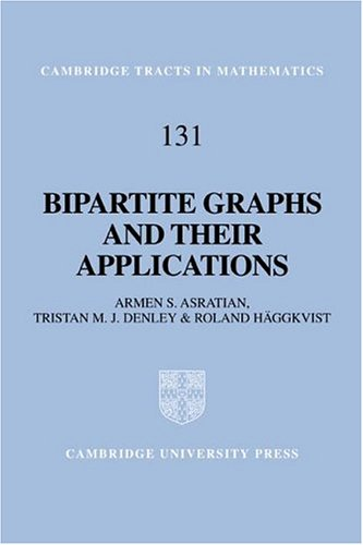 9780521593458: Bipartite Graphs and their Applications (Cambridge Tracts in Mathematics)