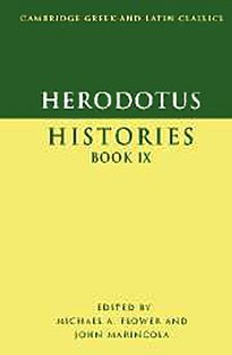 9780521593687: Herodotus: Histories Book IX: 9