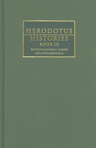 9780521593687: 9: Herodotus: Histories Book IX (Cambridge Greek and Latin Classics)