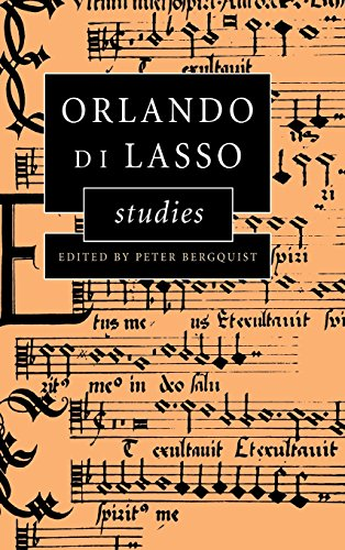 9780521593878: Orlando di Lasso Studies