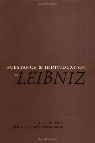 9780521593946: Substance and Individuation in Leibniz