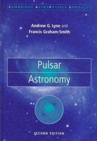 9780521594134: Pulsar Astronomy (Cambridge Astrophysics)
