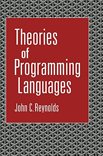 9780521594141: Theories of Programming Languages