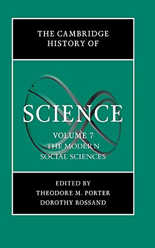 9780521594424: The Cambridge History of Science: Volume 7, The Modern Social Sciences