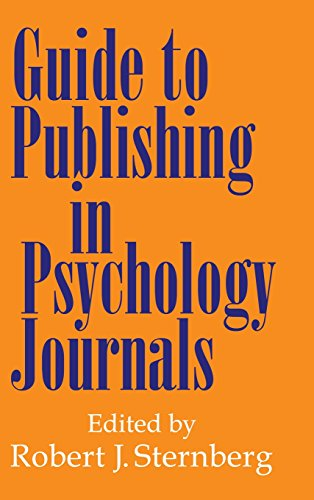 9780521594479: Guide to Publishing in Psychology Journals