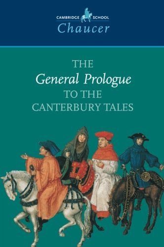 9780521595087: The General Prologue to the Canterbury Tales (Cambridge School Chaucer)