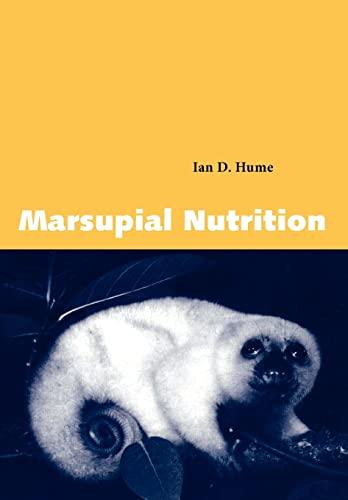 9780521595551: Marsupial Nutrition