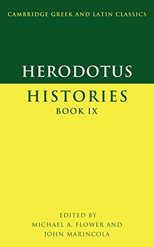 9780521596503: Herodotus: Histories Book IX (Cambridge Greek and Latin Classics) (Greek and English Edition)