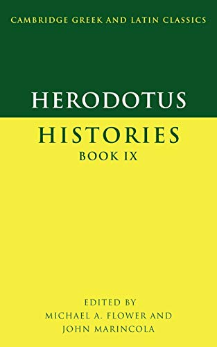 9780521596503: 9: Herodotus: Histories Book IX (Cambridge Greek and Latin Classics) (Greek and English Edition)