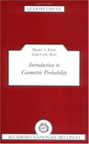 9780521596541: Introduction to Geometric Probability Paperback (Lezioni Lincee)