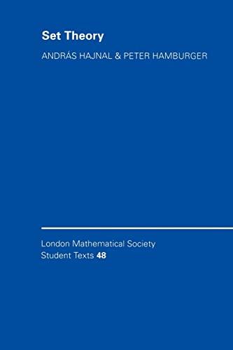 9780521596671: Set Theory (London Mathematical Society Student Texts)