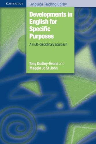9780521596756: Developments in English for Specific Purposes: A Multi-Disciplinary Approach (Cambridge Language Teaching Library)