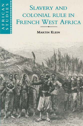 9780521596787: Slavery and Colonial Rule in French West Africa (African Studies)