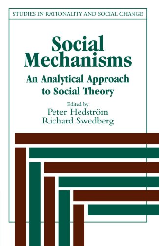9780521596879: Social Mechanisms: An Analytical Approach to Social Theory