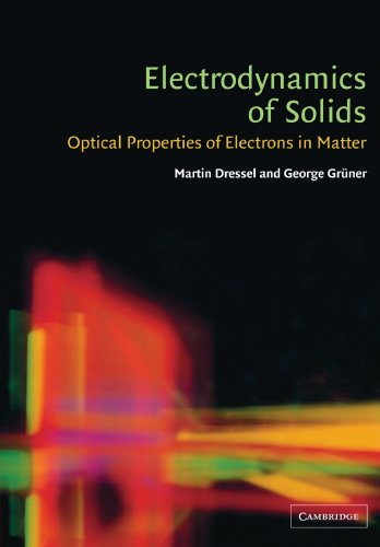 9780521597265: Electrodynamics of Solids: Optical Properties of Electrons in Matter