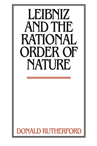 9780521597371: Leibniz and the Rational Order of Nature