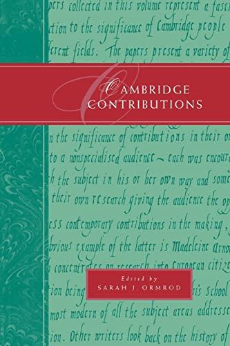 9780521597388: Cambridge Contributions