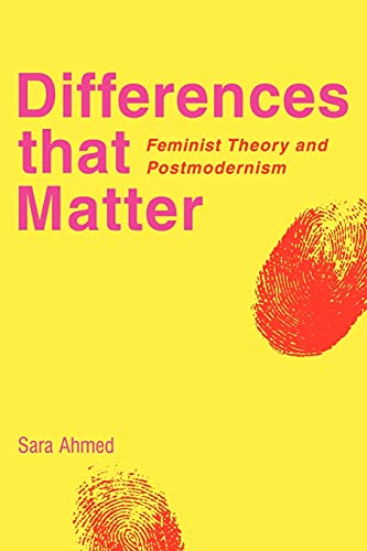 9780521597616: Differences that Matter: Feminist Theory and Postmodernism