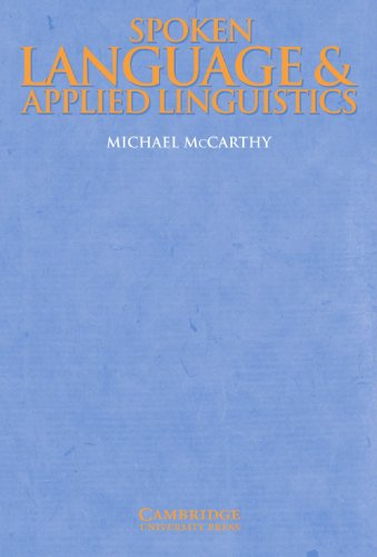 9780521597692: Spoken Language and Applied Linguistics (Cambridge Applied Linguistics)