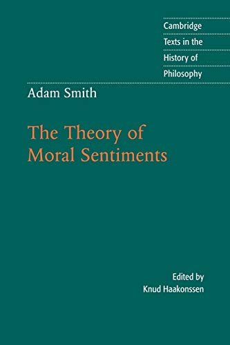 9780521598477: Adam Smith: The Theory of Moral Sentiments (Cambridge Texts in the History of Philosophy)