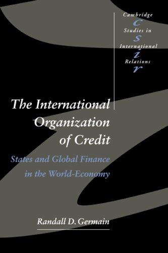 9780521598514: International Organisation Credit