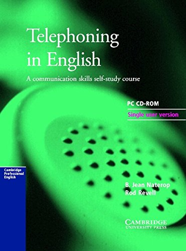 9780521598767: Telephoning in English CD-ROM: A Communication Skills Self-study Course: PC Version