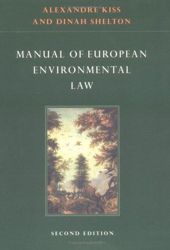 9780521598880: Manual of European Environmental Law