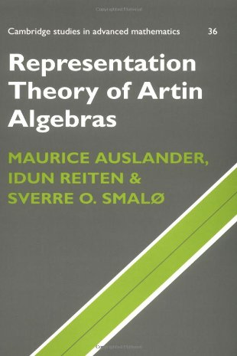 9780521599238: Representation Theory of Artin Algebras Paperback (Cambridge Studies in Advanced Mathematics)