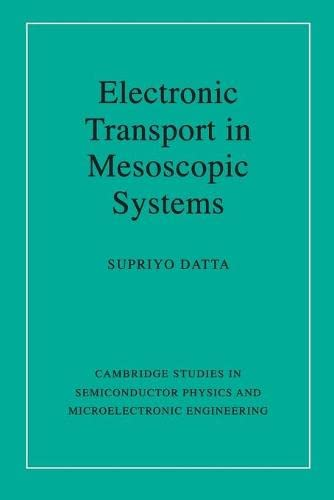 9780521599436: Electronic Transport in Mesoscopic Systems