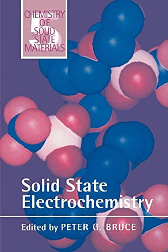 9780521599498: Solid State Electrochemistry