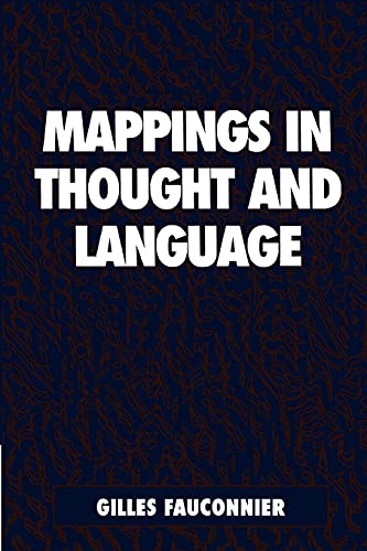 9780521599535: Mappings in Thought and Language