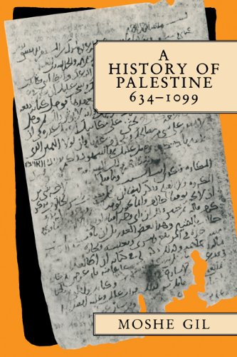 9780521599849: A History of Palestine, 634-1099
