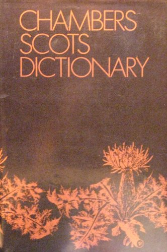 9780521600095: Chambers Scots Dictionary