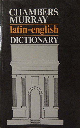 9780521600156: Chambers/Murray Latin/English Dictionary