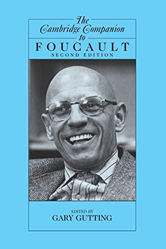 9780521600538: The Cambridge Companion to Foucault (Cambridge Companions to Philosophy)