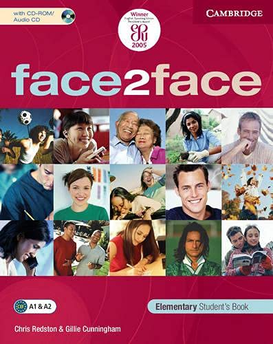9780521600613: face2face Elementary Student's Book with CD ROM/Audio CD