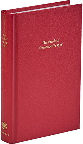 9780521600958: BCP Standard Edition Prayer Book Red Imitation leather Hardback 601B