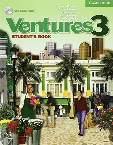 9780521600996: Ventures 3 Student's Book with Audio CD