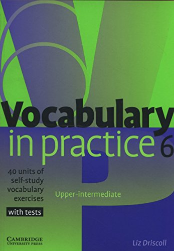 9780521601269: Vocabulary in Practice 6
