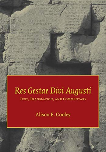 9780521601283: Res Gestae Divi Augusti: Text, Translation, and Commentary