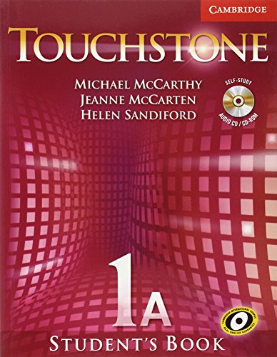 9780521601306: Touchstone  1 Student's Book A with Audio CD/CD-ROM