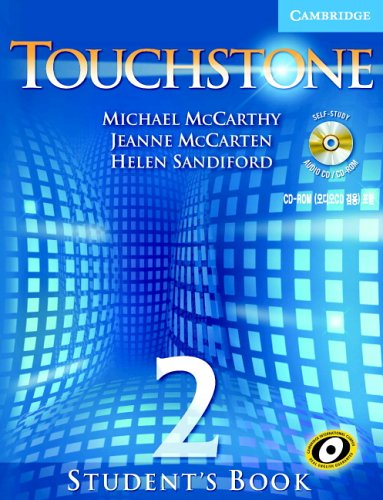9780521601344: Touchstone Student's Book 2 with Audio CD/CD-ROM Korea Edition: 1