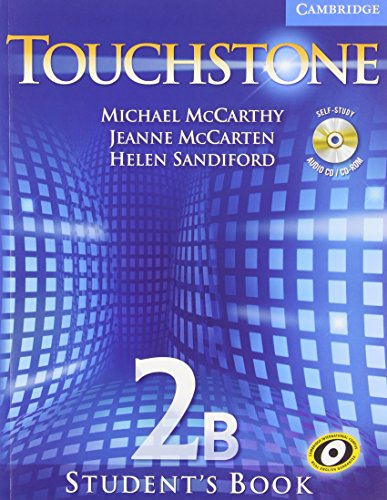 9780521601368: Touchstone Level 2 Student's Book with Audio CD/CD-ROM B