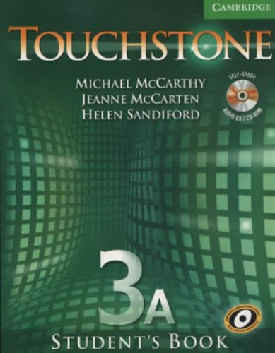9780521601405: Touchstone  3 Student's Book A with Audio CD/CD-ROM