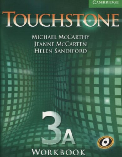 Touchstone Workbook 3A (New American English Course): McCarthy, Michael; McCarten,