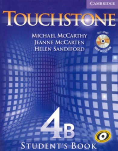 9780521601467: Touchstone  4 Student's Book B with Audio CD/CD-ROM