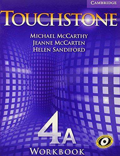 9780521601474: Touchstone Workbook 4A